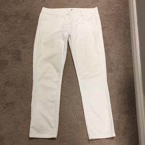 🇨🇦 H&M Women's Straight Leg White Pants- 14